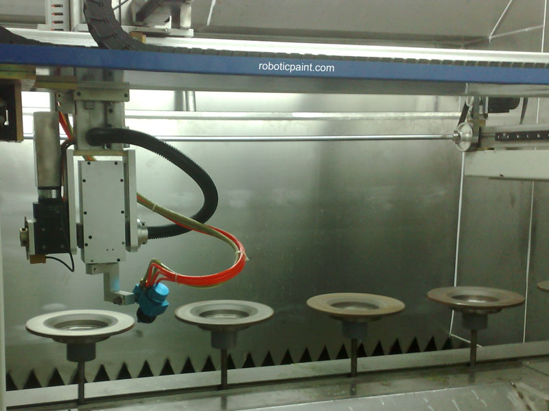 Automatic Spray Painting Machine Painting Robot Robotic